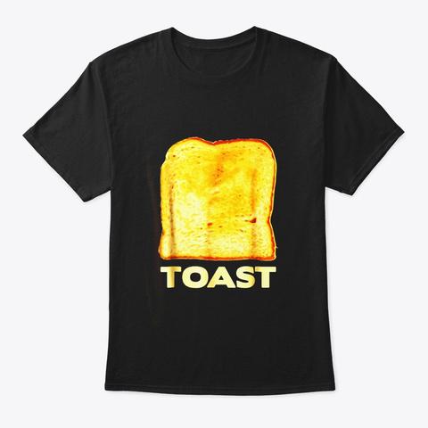 Avocado Toast Costume Matching Halloween Black T-Shirt Front