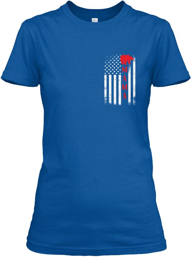 Mama-Bear-Flag-Gildan-Women-039-s-Tee-T-Shirt thumbnail 10