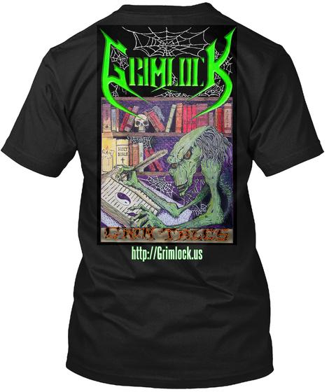Http://Grimlock.Us Black T-Shirt Back