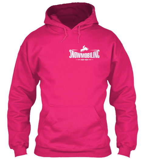 [2 Hours Left] Snowmobiling Heliconia T-Shirt Front