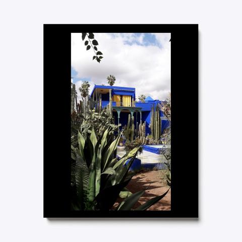 Wall Art Canvas Print Home Garden Black T-Shirt Front
