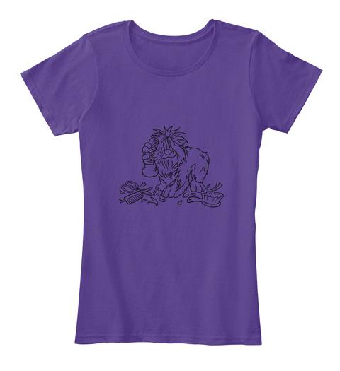 Mgz T Shirts Purple T-Shirt Front