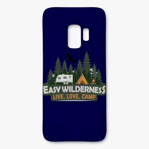 Easy Wilderness Logo Dark Navy T-Shirt Front