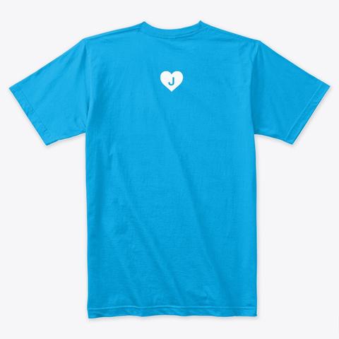 Hi.Jackson Turquoise T-Shirt Back