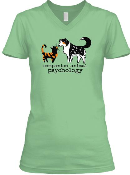 Companion Animal Psychology Leaf  T-Shirt Front