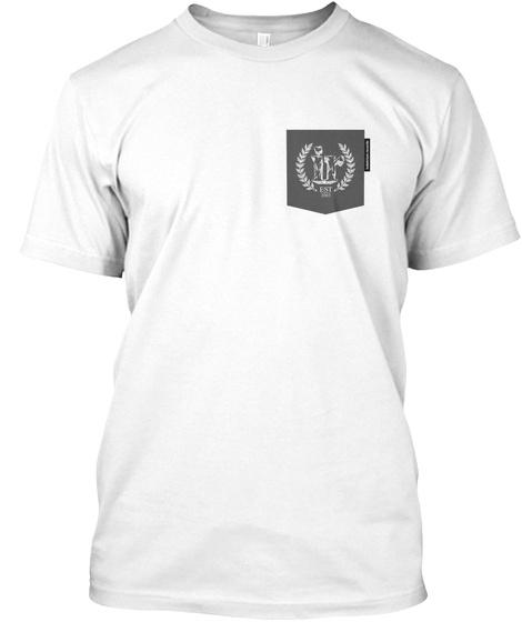 Indelirium Logo 10 Years Pocket White T-Shirt Front