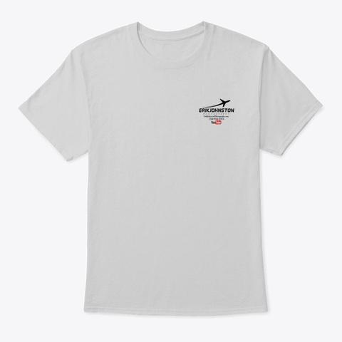Erik Johnston Photography Light Steel T-Shirt Front
