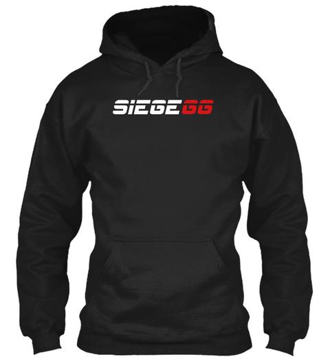 Siegegg Black T-Shirt Front