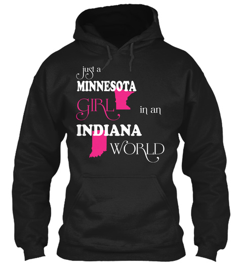 Minnesota Girl In An Indiana World Unisex Tshirt