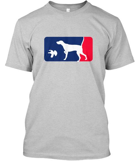 Pointer Spring Training Shirt   Grouse Light Steel T-Shirt Front