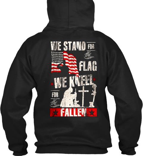 Veteran !! Black T-Shirt Back