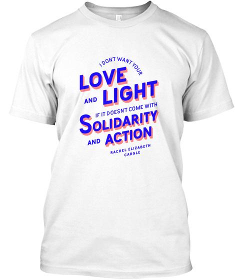 [US] Solidarity and Action t-shirts Unisex Tshirt