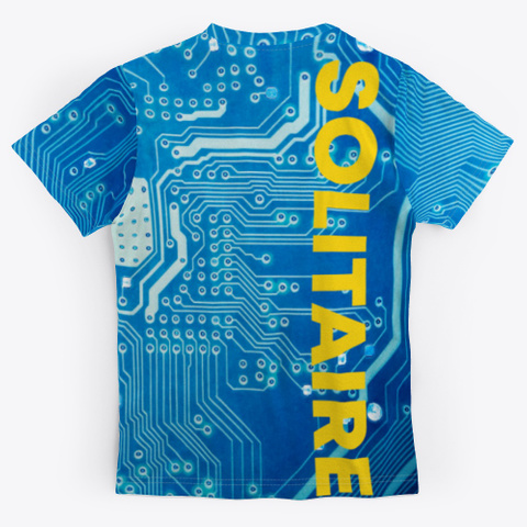 """S"" Is For Solitaire! Standard T-Shirt Back"
