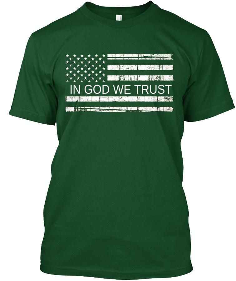 - In God We Trust - LongSleeve Tee
