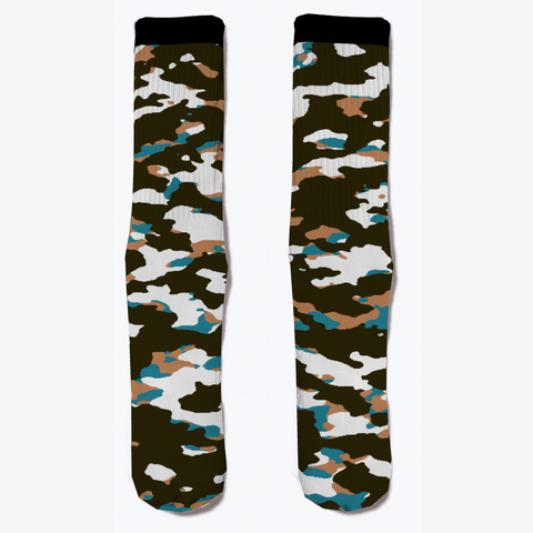Military Camouflage   Arctic Tundra V Standard T-Shirt Front