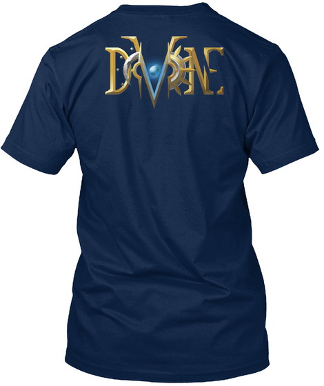 The Divine Swag Navy T-Shirt Back