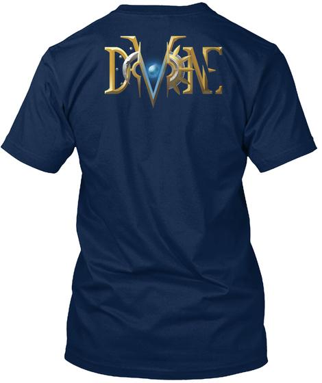 Dvne Navy T-Shirt Back