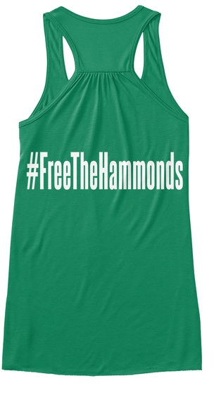 #Free The Hammonds Kelly T-Shirt Back