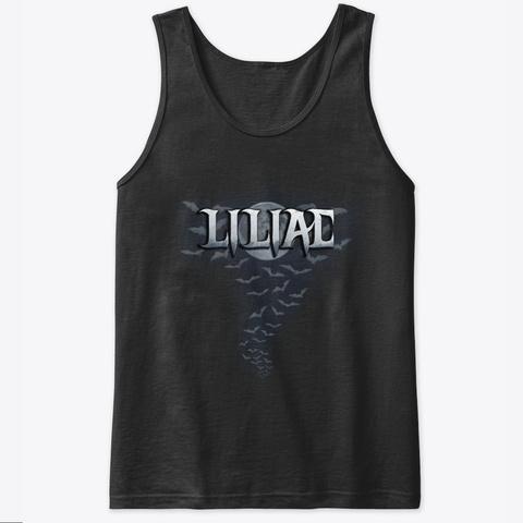 Liliac   Tour Tank Top Black T-Shirt Front