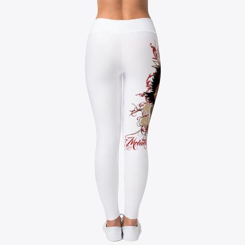 Melanin Mystique Leggings Standard T-Shirt Back