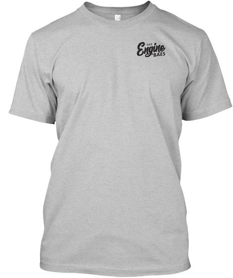 The Piston Snake Light Heather Grey  T-Shirt Front