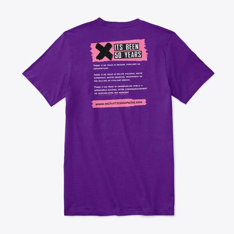 What Would Marsha Say? Team Purple T-Shirt Back
