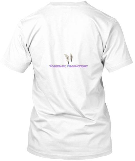 Scribbler Productions White T-Shirt Back