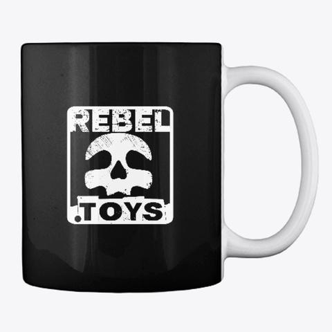 Rebel.Toys Mug Black T-Shirt Back