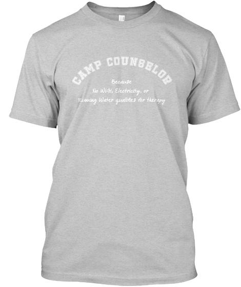 f2744429d098 Men s Camp Counselor Camping Shirt  Teespring Campaign