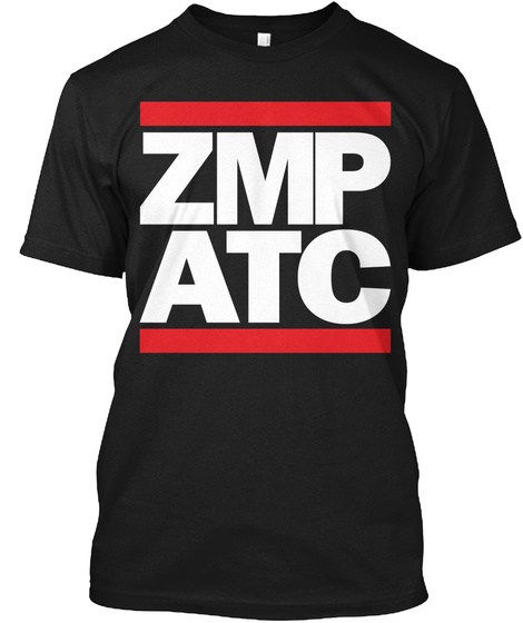 Zmp Minneapolis Artcc, Air Traffic Black T-Shirt Front