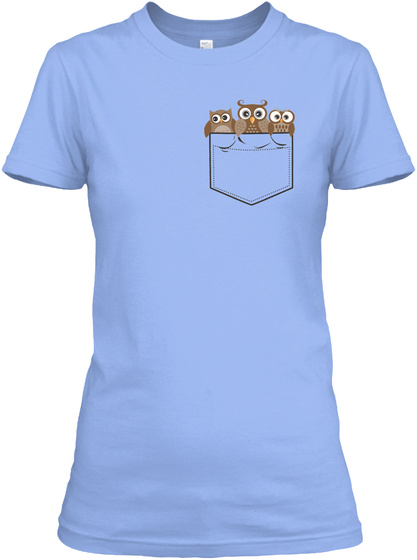 Na Light Blue T-Shirt Front
