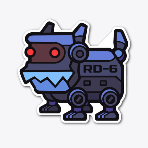 Robo Dogs V 3 / Best Gift / Fun Doggie Standard Maglietta Front
