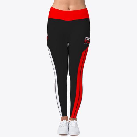 Rebo I Obe Red Leggings Black T-Shirt Front