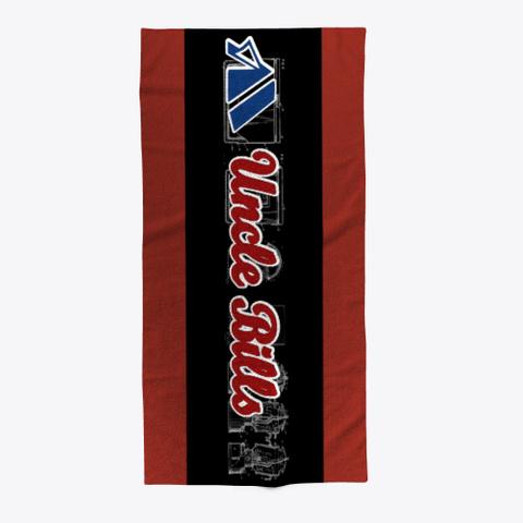 Bills Beach Towel Dark Red T-Shirt Front