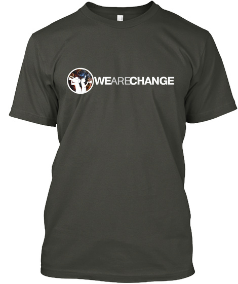 Wearechange Smoke Gray T-Shirt Front