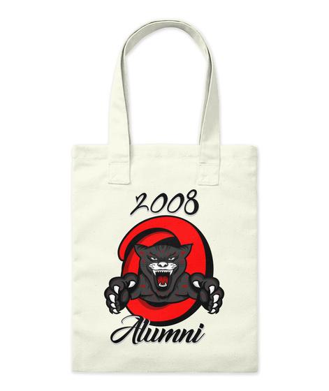 2008 Alumni Natural T-Shirt Front
