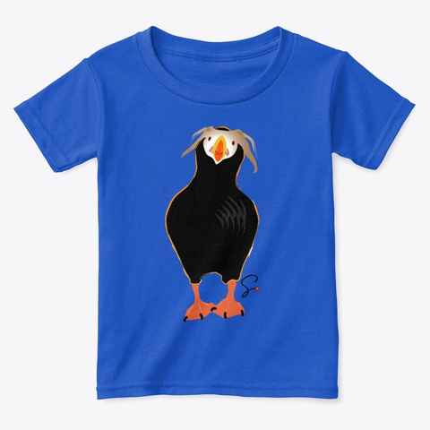 Toddler Tee! Royal  T-Shirt Front