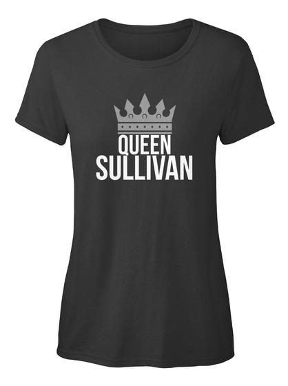 Sullivan   Simply Queen Sullivan Black T-Shirt Front