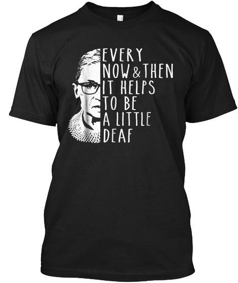 Notorious Rbg Shirt   Funny Ruth Bader G Black T-Shirt Front