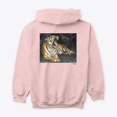 Olm (Brave)  Light Pink T-Shirt Back