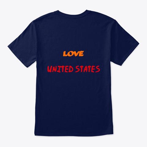 áo Cường Lê Tv Navy T-Shirt Back