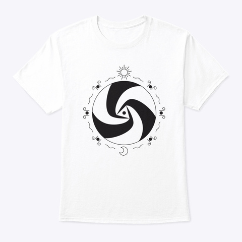 One World One Art   Lucca D White T-Shirt Front