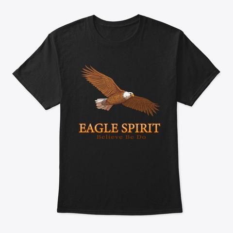 Eagle Spirit Premium Collection Black T-Shirt Front