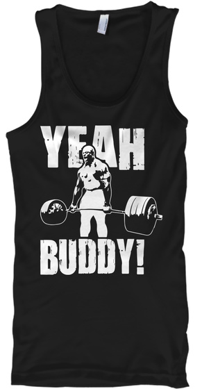 Funny Gym Shirts, Workout Tank Tops Black T-Shirt Front