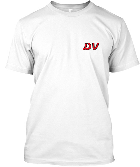 Dv White T-Shirt Front