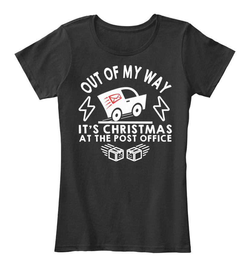 OUT OF MY WAY - CHRISTMAS- POST OFFICE SweatShirt