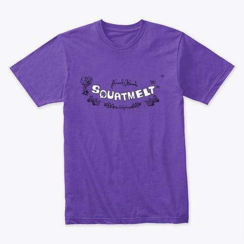 Squatmelt Purple Rush T-Shirt Front