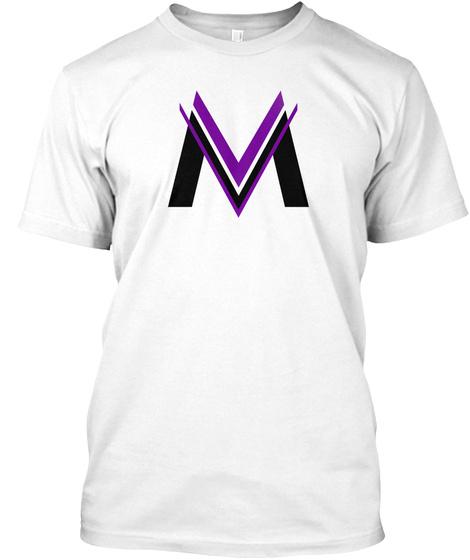 M White T-Shirt Front
