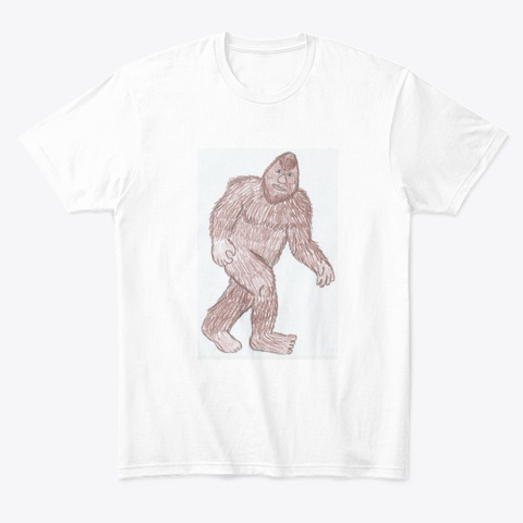 Little Emma's Art White T-Shirt Front