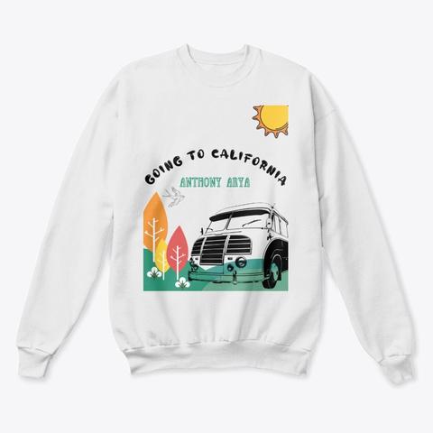 Gtc Big Sur Collection White  T-Shirt Front